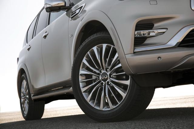 Infiniti QX80 2018 chốt giá từ 64.750 USD, cạnh tranh Lexus LX570 - Ảnh 7.