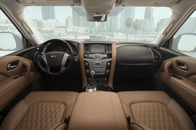 Infiniti QX80 2018 chốt giá từ 64.750 USD, cạnh tranh Lexus LX570 - Ảnh 4.