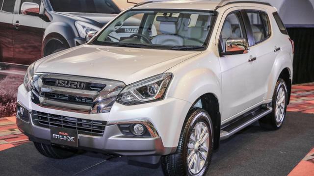 Ngắm kỹ Isuzu MU-X 2017 có thể về Việt Nam trong tương lai để cạnh tranh Toyota Fortuner