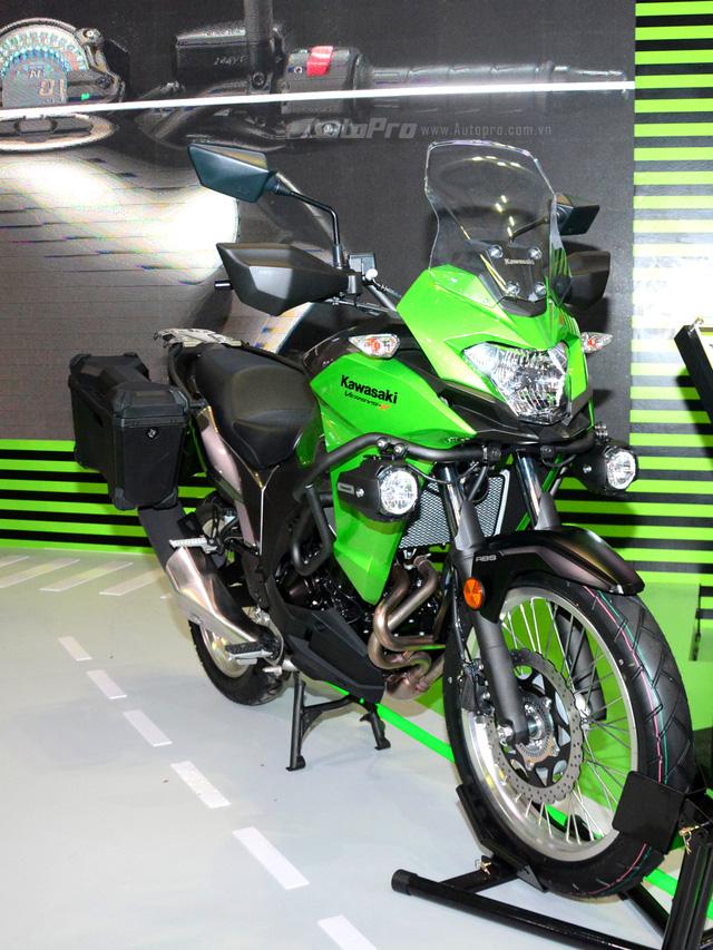 Xế phượt Kawasaki Versys-X 300 2017 giá từ 150 triệu Đồng có gì hot? - Ảnh 3.