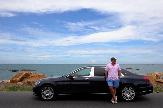 Khải Silk khoe ảnh Mercedes-Maybach S400 4Matic mới tậu đọ dáng Rolls-Royce Phantom - Ảnh 3.