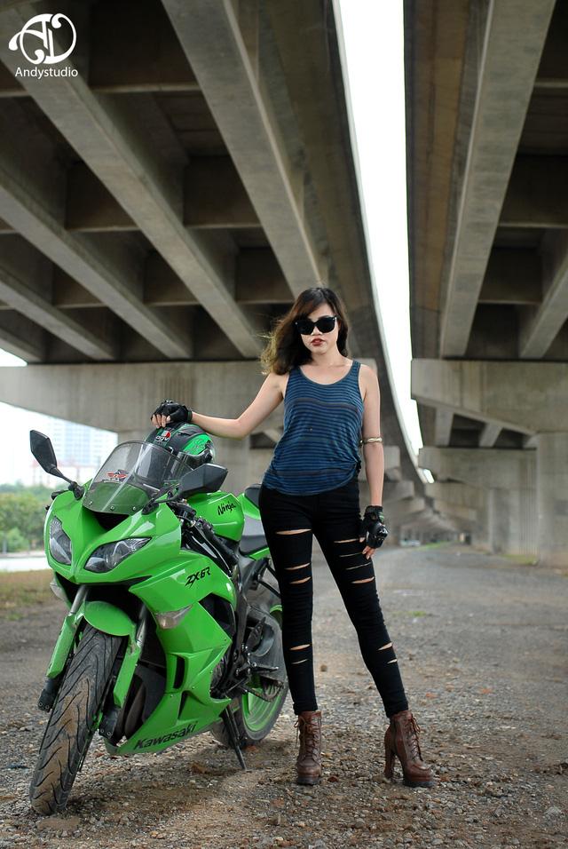 Gặp gỡ 5 nữ biker cá tính của Hà Thành - Ảnh 3.