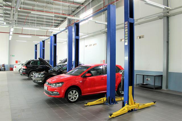 Volkswagen khai trương đại lý đạt chuẩn 4S đầu tiên tại Hà Nội - Ảnh 2.
