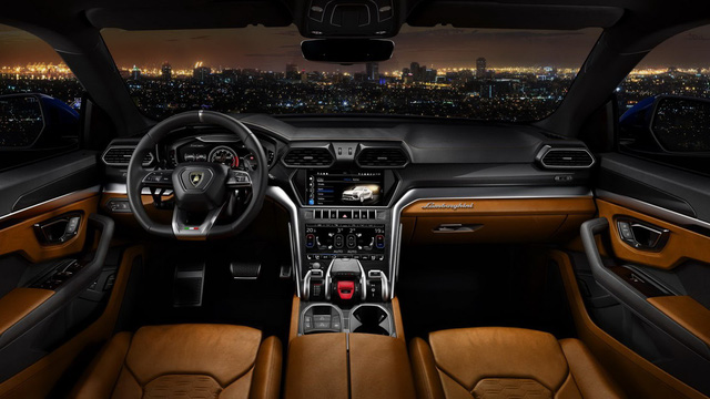 Lamborghini Urus - SUV nhanh nhất thế giới chính thức trình làng - Ảnh 7.