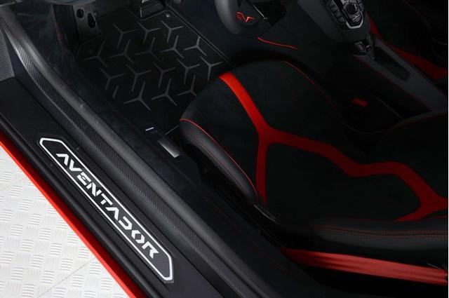 Vẻ đẹp siêu xe hàng hiếm Lamborghini Aventador SV đỏ rực rao bán 12,7 tỷ Đồng - Ảnh 10.