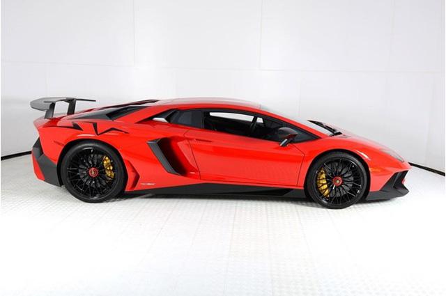 Vẻ đẹp siêu xe hàng hiếm Lamborghini Aventador SV đỏ rực rao bán 12,7 tỷ Đồng - Ảnh 4.