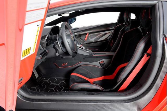 Vẻ đẹp siêu xe hàng hiếm Lamborghini Aventador SV đỏ rực rao bán 12,7 tỷ Đồng - Ảnh 9.