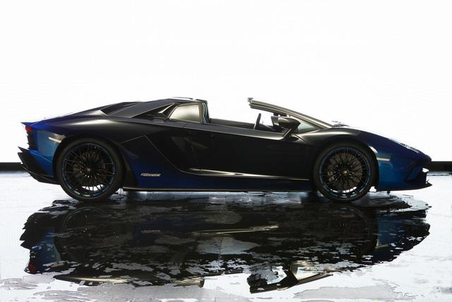 Lamborghini trình làng Aventador S mui trần bản giới hạn tại Nhật Bản - ảnh 7