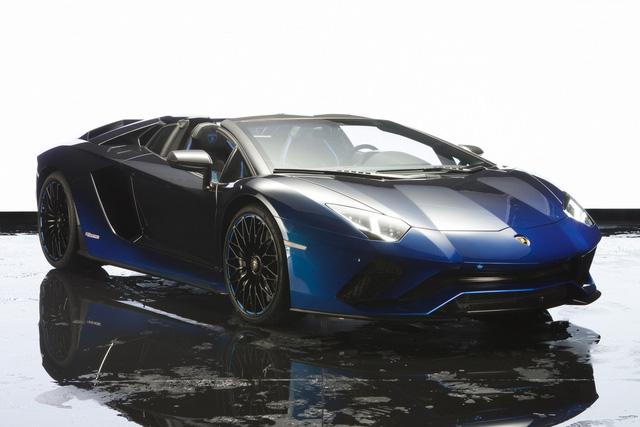 Lamborghini trình làng Aventador S mui trần bản giới hạn tại Nhật Bản - ảnh 4
