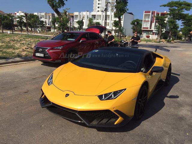 Cặp đôi Lamborghini Huracan độ khủng, biển VIP, đọ dáng cùng nhau tại Đà Nẵng - Ảnh 9.