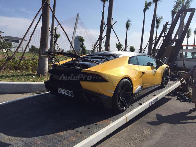 Cặp đôi Lamborghini Huracan độ khủng, biển VIP, đọ dáng cùng nhau tại Đà Nẵng - Ảnh 7.
