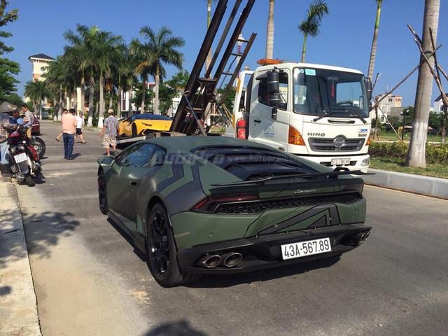 Cặp đôi Lamborghini Huracan độ khủng, biển VIP, đọ dáng cùng nhau tại Đà Nẵng - Ảnh 5.