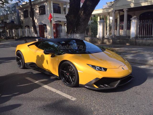 Cặp đôi Lamborghini Huracan độ khủng, biển VIP, đọ dáng cùng nhau tại Đà Nẵng - Ảnh 15.