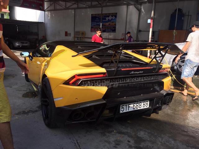 Cặp đôi Lamborghini Huracan độ khủng, biển VIP, đọ dáng cùng nhau tại Đà Nẵng - Ảnh 8.