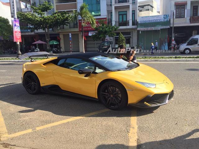 Cặp đôi Lamborghini Huracan độ khủng, biển VIP, đọ dáng cùng nhau tại Đà Nẵng - Ảnh 10.