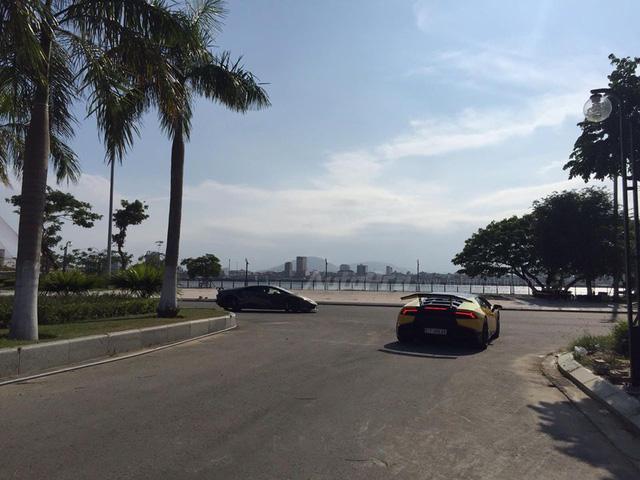 Cặp đôi Lamborghini Huracan độ khủng, biển VIP, đọ dáng cùng nhau tại Đà Nẵng - Ảnh 4.