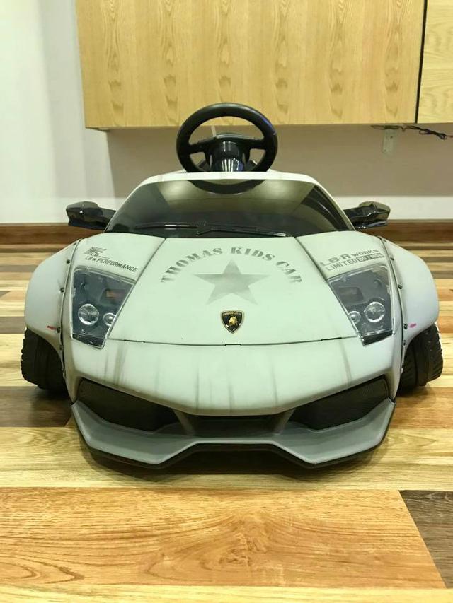 Xuất hiện bản độ Liberty Walk của siêu xe Lamborghini Murcielago đồ chơi tại Việt Nam - Ảnh 4.