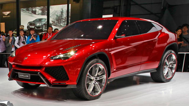 Lamborghini sắp ra mắt mẫu sedan 4 cửa hoàn toàn mới