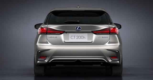 Lexus trình làng bản nâng cấp CT 200h 2018 cho thị trường Châu Âu - Ảnh 5.