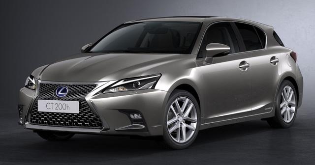 Lexus trình làng bản nâng cấp CT 200h 2018 cho thị trường Châu Âu - Ảnh 2.