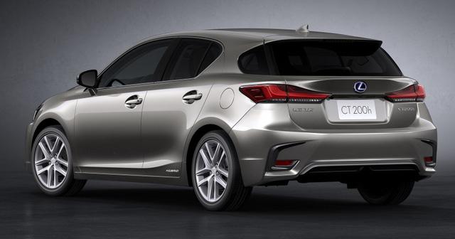 Lexus trình làng bản nâng cấp CT 200h 2018 cho thị trường Châu Âu - Ảnh 4.