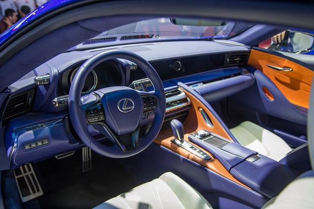 Lexus LC 500h 2018 đầu tiên xuất hiện tại Việt Nam - Ảnh 6.