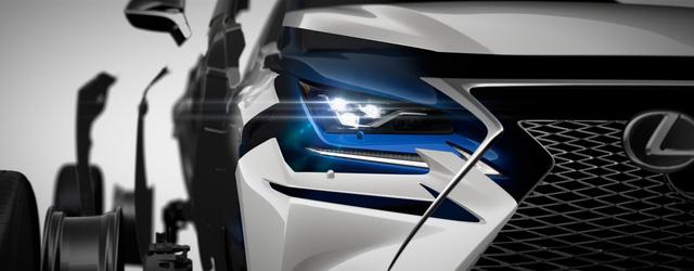 Crossover hạng sang Lexus NX 2018 lần đầu tiên lộ diện - Ảnh 1.