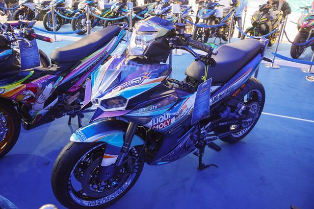 Dàn Yamaha Exciter độ tụ họp trong sự kiện giao lưu với Valentino Rossi tại Việt Nam - Ảnh 9.