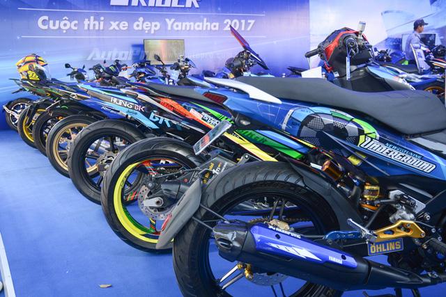 Dàn Yamaha Exciter độ tụ họp trong sự kiện giao lưu với Valentino Rossi tại Việt Nam - Ảnh 7.