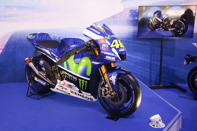 Dàn Yamaha Exciter độ tụ họp trong sự kiện giao lưu với Valentino Rossi tại Việt Nam - Ảnh 14.