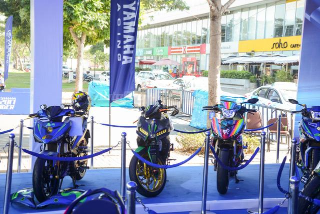 Dàn Yamaha Exciter độ tụ họp trong sự kiện giao lưu với Valentino Rossi tại Việt Nam - Ảnh 3.