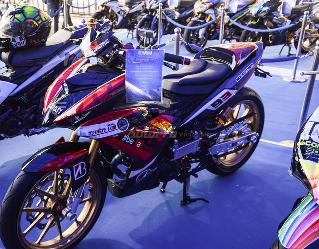 Dàn Yamaha Exciter độ tụ họp trong sự kiện giao lưu với Valentino Rossi tại Việt Nam - Ảnh 13.