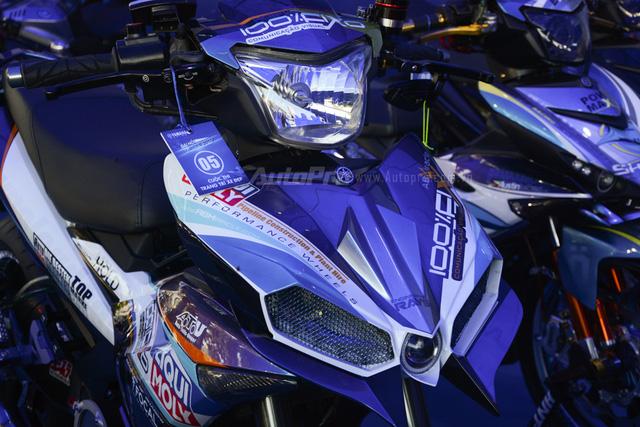 Dàn Yamaha Exciter độ tụ họp trong sự kiện giao lưu với Valentino Rossi tại Việt Nam - Ảnh 10.
