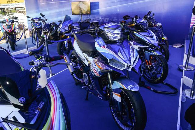 Dàn Yamaha Exciter độ tụ họp trong sự kiện giao lưu với Valentino Rossi tại Việt Nam - Ảnh 8.