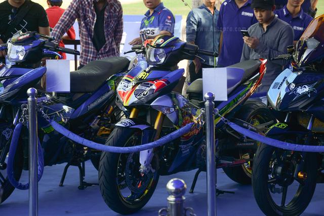 Dàn Yamaha Exciter độ tụ họp trong sự kiện giao lưu với Valentino Rossi tại Việt Nam - Ảnh 11.