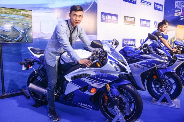 Dàn Yamaha Exciter độ tụ họp trong sự kiện giao lưu với Valentino Rossi tại Việt Nam - Ảnh 15.