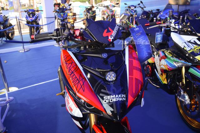 Dàn Yamaha Exciter độ tụ họp trong sự kiện giao lưu với Valentino Rossi tại Việt Nam - Ảnh 4.