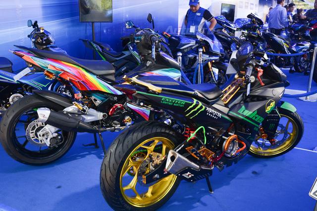Dàn Yamaha Exciter độ tụ họp trong sự kiện giao lưu với Valentino Rossi tại Việt Nam - Ảnh 5.