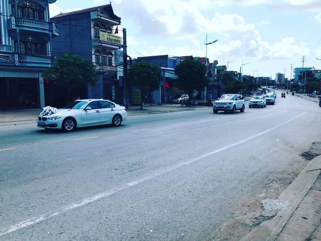 Hàng chục chiếc Lexus LX570 và Range Rover tham gia rước dâu hot girl Quảng Ninh - Ảnh 2.