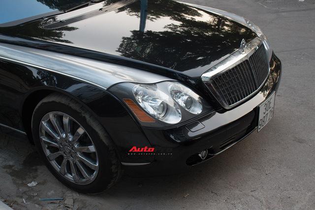 Xe siêu sang Maybach 62 trong lô xe nhập lậu năm 2013 tái xuất tại Hà Nội - Ảnh 1.