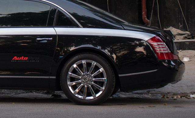Xe siêu sang Maybach 62 trong lô xe nhập lậu năm 2013 tái xuất tại Hà Nội - Ảnh 7.