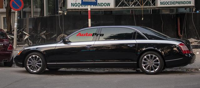 Xe siêu sang Maybach 62 trong lô xe nhập lậu năm 2013 tái xuất tại Hà Nội - Ảnh 6.