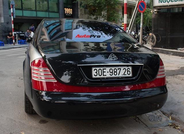 Xe siêu sang Maybach 62 trong lô xe nhập lậu năm 2013 tái xuất tại Hà Nội - Ảnh 5.