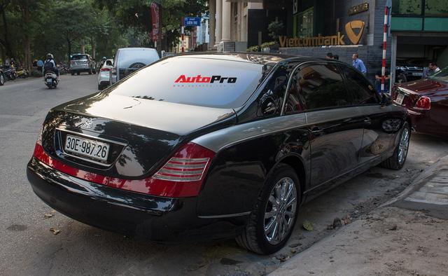 Xe siêu sang Maybach 62 trong lô xe nhập lậu năm 2013 tái xuất tại Hà Nội - Ảnh 2.