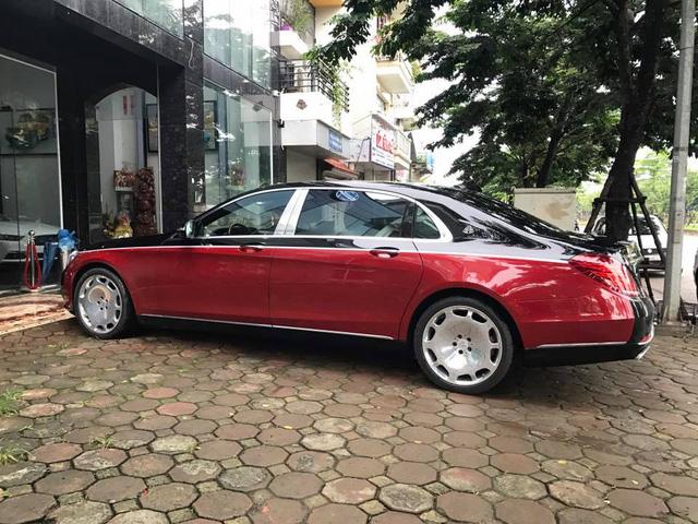 Choáng với ngoại thất chiếc xe siêu sang Mercedes-Maybach S500 tại Hà thành - Ảnh 5.
