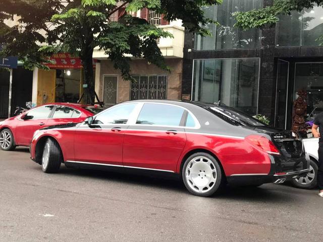 Choáng với ngoại thất chiếc xe siêu sang Mercedes-Maybach S500 tại Hà thành - Ảnh 16.