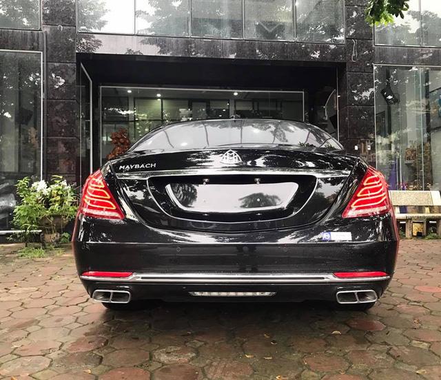 Choáng với ngoại thất chiếc xe siêu sang Mercedes-Maybach S500 tại Hà thành - Ảnh 6.