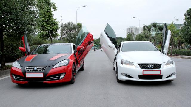 Mazda6 độ cửa kiểu Lamborghini tại Hà Nội - Ảnh 6.