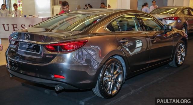 Mazda6 2017 ra mắt Đông Nam Á, sẵn sàng chiến đấu với Toyota Camry - Ảnh 6.