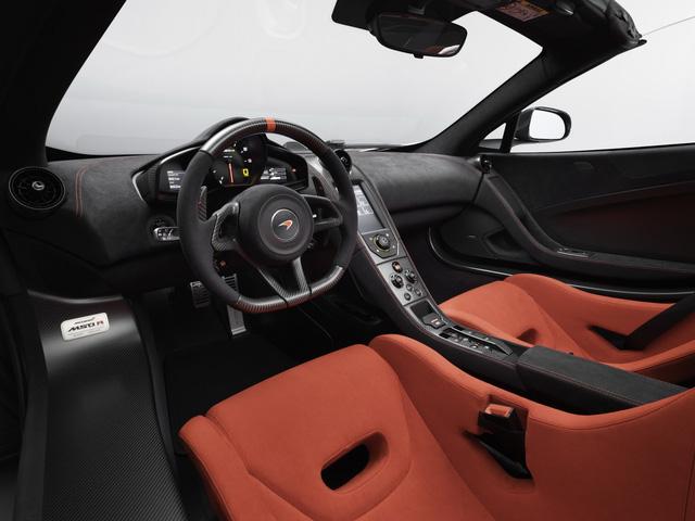 Vén màn cặp đôi siêu xe McLaren MSO R Coupe và Spider thửa riêng cho một đại gia - Ảnh 10.